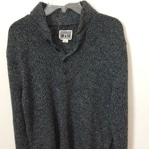 Converse one star men's Pullover sweater